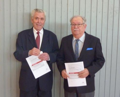 Günther Weida und Karl Haller