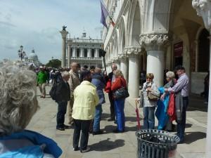Chor beim Jahresausflug in Venedig